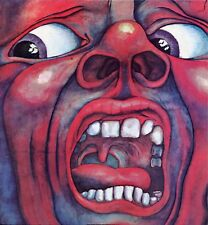 """KING CRIMSON """"IN THE COURT OF THE CRIMSON KING"""" JAPAN RE 1969/76 M-/M-"""