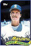 1989 Topps Traded Randy Johnson Seattle Mariners #57T Baseball Card