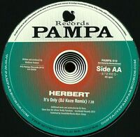 """Dntel / Herbert - My Orphaned Son / It's Only PAMPA 012 New 12"""""""