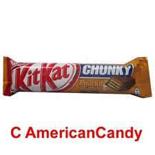 NEU:   9 x KitKat Chunky Peanut Butter  (23,13€/kg) limited edition