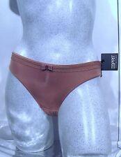 ESPRIT*slip femme mini brief marron f38/uk10/D36/ I-S/US-XS NEUF zz 18€ Sacrifié