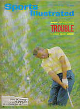 1965 7/26 Sports Illustrated,Golf, How to Get Out of Trouble by Arnold Palmer~Gd