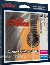 Alice clásica Cuerdas de Guitarra de cristal Premium tensión normal de Nylon anti moho