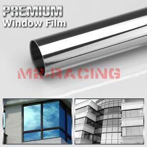 Light Smoke Window Tint Film UV Heat Reflective Home Office #1
