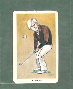 Jack Nicklaus 1979 Venorlandus Ltd. Our Heroes  #22 Golf Card HOF