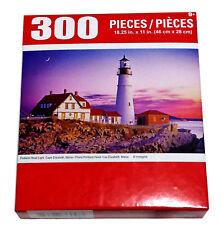 "Portland Head Light Cape Elizabeth ME Jigsaw Puzzle 300 Pieces 18.25""X11"" Piece"