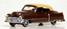 Busch 1/87 HO Cadillac Cabriolet (1952) Top Up Brown 43423