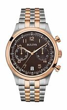 Bulova Men's 98B248 Classic Chronograph Two Tone Quartz Stainless Steel Watch