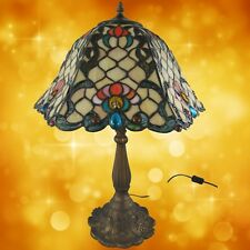 Tiffanylampe komplett Tisch Lampe Weihnachtgeschenk H.62-D.40cm Tischleuchten