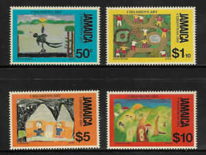 E259] JAMAICA 1991 Christmas complete set 4v unmounted mint SG cat £11.50
