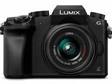 PANASONIC LUMIX G7 4K Digital Camera, +LUMIX G VARIO 14-42mm MEGA O.I.S. Lens, 1