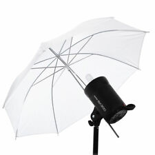 "33"" White Photography Pro Studio Reflector Translucent Safe Diffuser Umbrella"