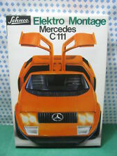 Estremely RARE SCHUCO  5508  - MERCEDES  C111 Elektro  Montage   -  Nuova / Mint