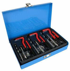 88pc Thread Repair Helicoil Tool Set Kit M6 M8 M10 Inserts Taps & Drill Bits
