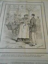 Typo 1890 Marchande des Quatre Saisons Rue du Faub Montmartre