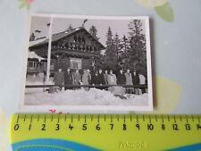 Original Harringay RACERS Ice Hockey 1950's NORWAY Tour at Oslo TEAM Photo