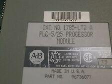Allen Bradley 1785-lt2 a Plc-5/25 Processore Modulo P/N 96736877 Firmware L