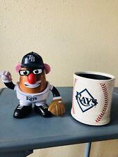 Tampa Bay Rays Manager Maddon Hasbro Mr Potatoe Head +MLB Leather Cozy