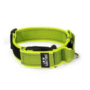 K9 Halsband Color+Gray, mit Griff, 40mm, Julius-K9 Powerhalsband, Hetzhalsband
