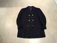 pea coat,italian navy, nos, 2003, 80% wool 20% rayon 54 cm  44 us