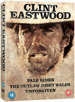 Pale Rider/The Outlaw Josey Wales/Unforgiven DVD (2010) Clint Eastwood cert 18