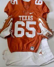 Texas Longhorns Nike Game Worn Football Jersey + Pants + Nike Zoom Code Elite TD