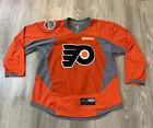2016-17 Philadelphia Flyers Game Issued Reebok Hockey Jersey NHL Stadium Series