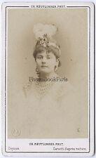 Actrice Théatre Opéra Paris Photo Ch. Reutlinger cdv Vintage albumine ca 1875