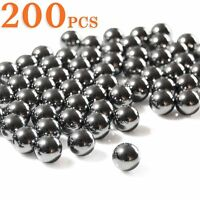 200pcs 6 sizes Outdoor Steel Ball Slingshot Ammo for Hunting & Target Shooting