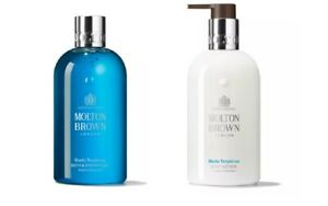 Molton Brown Blissful Templetree Body Wash + Body Lotion 300ml GIFT SET
