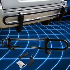Black Coated Double Pipe Bar Rear Bumper Guard for 2003-2009 Toyota 4Runner/GX