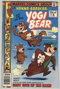 Yogi Bear #4 May 1978 VG