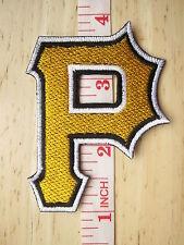 MLB Baseball Pittsburgh Pirates Logo embroidered Iron on Patch Shirt Bag Cap