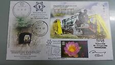 Thailand 2016 Exhibition Sabah Train Overprint Malaysia First Day Cover FDC b