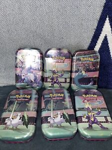Pokemon TCG Galar Power Mini Tin Factory - 2 Booster Pack Lot Of 6