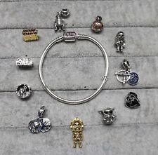 Pandora Star wars Full Set 11 charms + Bracelet S925 ALE