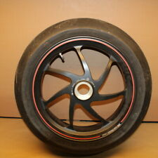 Ducati 2010 1198 S Forged Rear Wheel Rim and Tire