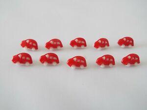 Domo De Plástico Redondo Seta de Costura Artesanía Botones De Bola De Media Caña Talla 12mm