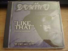 SEALED RARE OOP Domino CD single Like That 2001 Diamonique SOC D Freaked It RAP