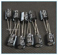 (10pcs) 220uf 35v Electrolytic Capacitor 35v220uf Rubycon YXF Low impedance
