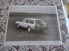 8x10 factory advertising photo 1982 volkswagen Quantum Wagon  VW 3725-82