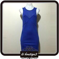 T BY BETTINA LIANO Bodycon Baby Blue Dress RRP $99.95 Size 8 ( 9 E )
