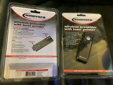 New Innovera Wireless Presenter with Laser Pointer Matte Black Ivr-61101