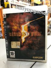 Resident Evil 5 Ita PS3 USATO GARANTITO