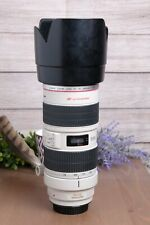 CANON EF 70-200mm F/2.8 L IS USM Lens with Hood & Tripod Mount