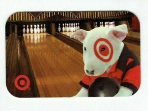 Target Gift Card Bullseye Dog - Bowling - Older 2007 - No Value - I Combine Ship