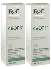 Pack of 2 RoC Keops Roll-on deodorant 30ml fresh skin without perfume,no alcohol