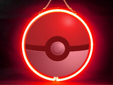 Pokemon Balls Hub Bar Display Advertising Neon Sign