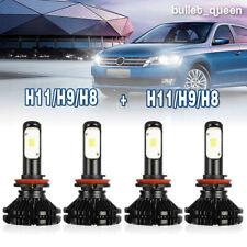 H11 + H11 Combo LED Headlight Kits for Dodge Grand Caravan 2011-2018 Hi-Lo Beam