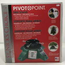 "NEW EZ-Up Pivot Point Tree Stand Holds up to 9' tall 5.75"" trunk Christmas"